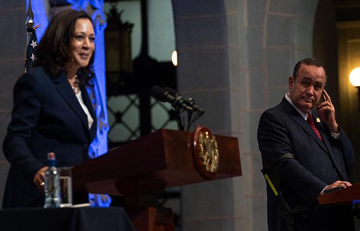 Descarado intervencionismo de Kamala Harris en Centroamérica